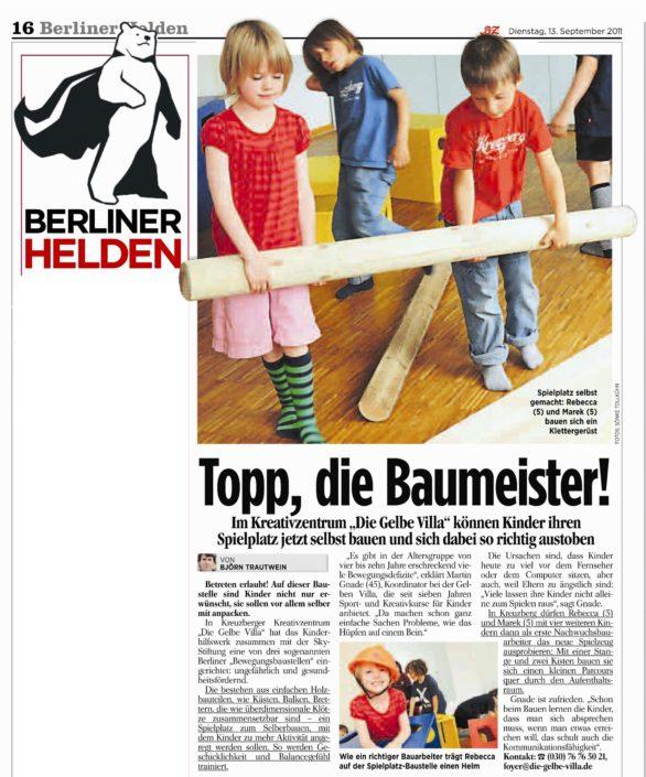 Berliner helden berichtet
